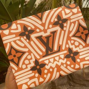 Louis Vuitton LV crafty Pochette Toilette pouch